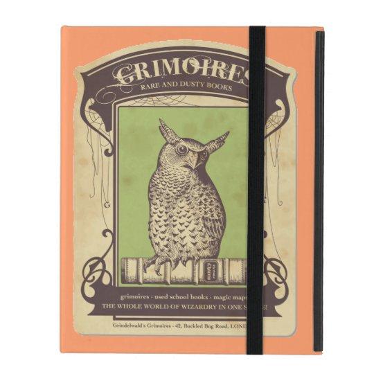 Grimoires Owl iPad Cover
