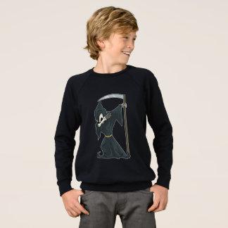 Grimreaper Dabbing Funny Halloween Dab Dance Sweatshirt