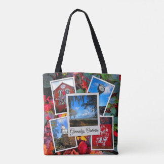 Grimsby Ontario Collage Tote Bag