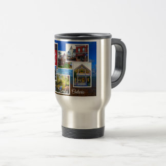 Grimsby Ontario Collage Travel Mug