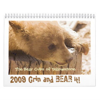 Grin and Bear it - Customized Wall Calendar