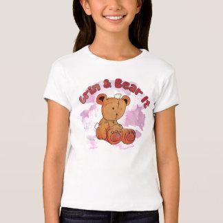 grin and bear it toddler shirt