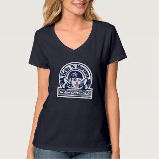 Grin 'N' Barum Roller Derby Club T-Shirt