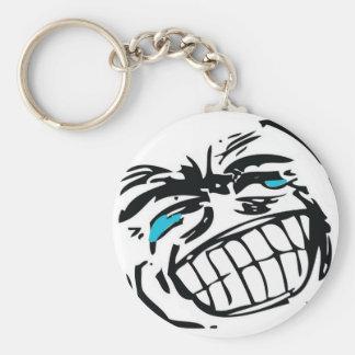Grin Troll Keychain