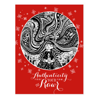 Grincheux Angel Wishes | Red Postcard Authenticity