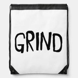 Grind Drawstring Bag