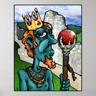 Grind King Sceptre Posters