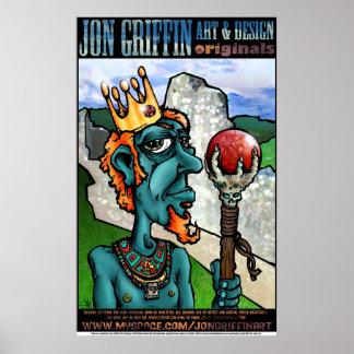 Grind King Sceptre Print/Poster