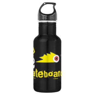 grind skateboard clothing skateboarding logo 532 ml water bottle