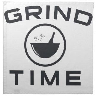 GRIND TIME NAPKIN