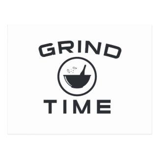 GRIND TIME POSTCARD