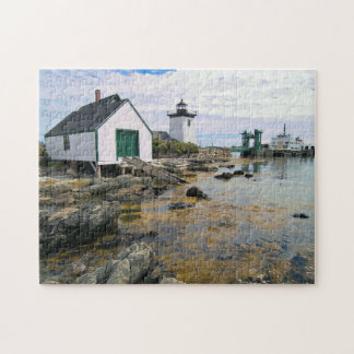 Grindle Point Lighthouse, Maine Jigsaw Puzzle