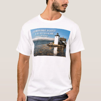 Grindle Point Lighthouse, Maine T-Shirt
