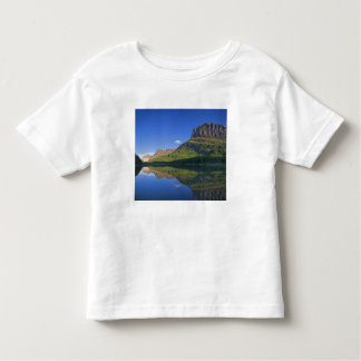 Grinnel Point and Allen Mountain reflect into Toddler T-shirt