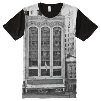 Grinnell Brothers Woodward Detroit All-Over-Print T-Shirt