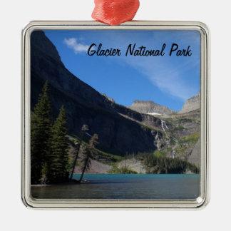 Grinnell Lake - Glacier National Park Metal Ornament