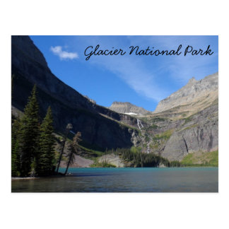 Grinnell Lake - Glacier National Park Postcard