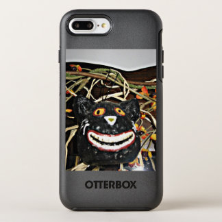 Grinning Black Cat OtterBox Symmetry iPhone 8 Plus/7 Plus Case