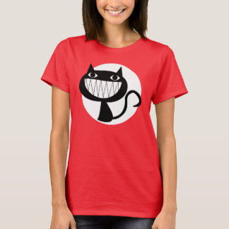 GRINNING CAT Basic T-Shirt