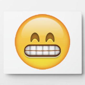 Grinning - Emoji Plaque
