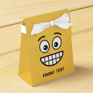 Grinning Face with Open Eyes Favor Box