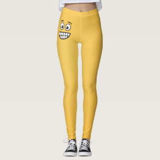Grinning Face with Open Eyes Leggings