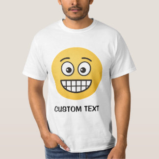 Grinning Face with Open Eyes T-Shirt