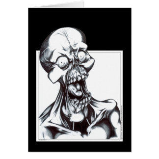 Grinning Ghoul Card