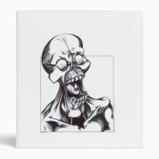 Grinning Ghoul Vinyl Binder