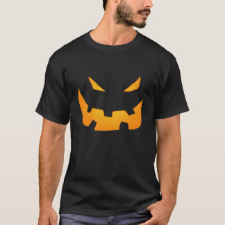 Grinning Halloween Pumpkin Face T-Shirt