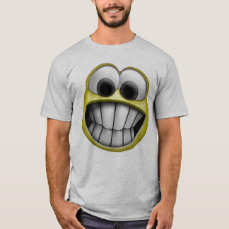Grinning Happy Smiley Face T-Shirt