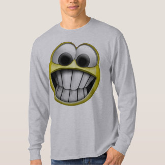 Grinning Happy Smiley Face Tshirts