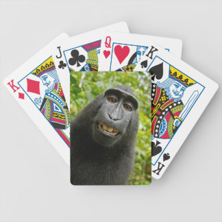 Grinning Monkey Bicycle Playing Cards