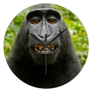 Grinning Monkey Clock