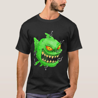 grinning monsterfish shirt
