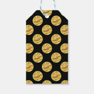 Grinning Moon on Halloween Pack Of Gift Tags