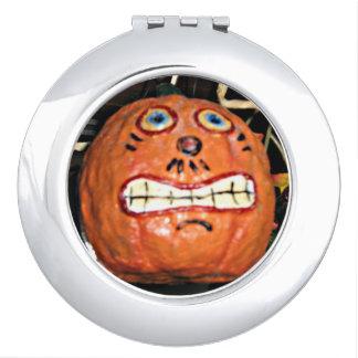 Grinning Pumpkin Compact Mirrors