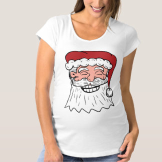 Grinning Santa Face Shirt
