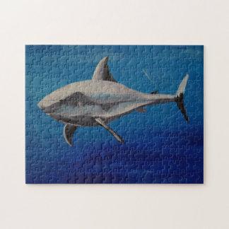 Grinning shark jigsaw puzzle