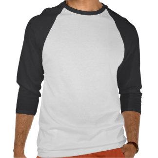 Grinning Skull in Hat - Raglan Sleeve T-shirts