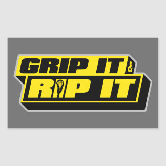 Grip It and Rip It Sticker