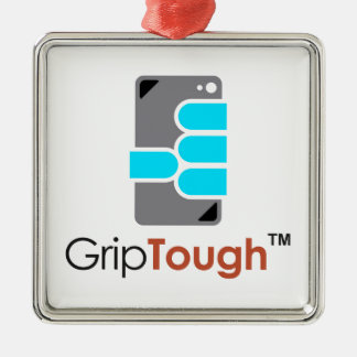 GripTough ™ Logo Metal Ornament
