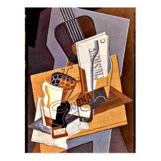 Gris - Book of Music Postcard