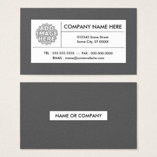 gris de raffinage cartes de visite