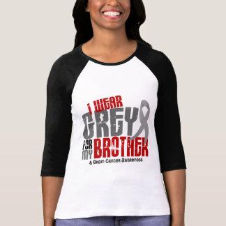 Gris d'usage du cancer du cerveau I pour mon frère T-shirt