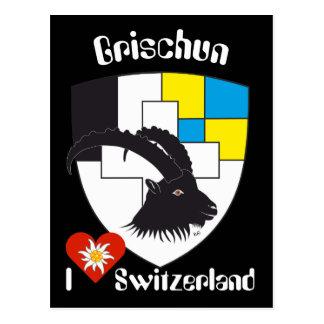Grischun Svizra postcard