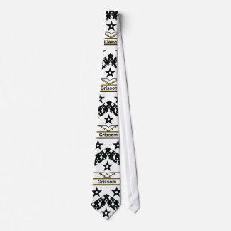 Grissom Family Crest Tie