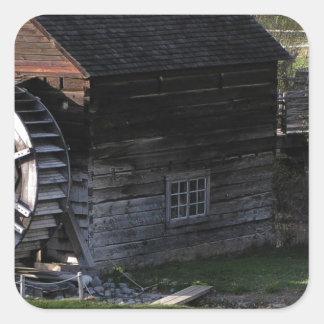 Grist Mill, Keremeos, BC, Canada Square Sticker