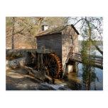 Grist Mill Stone Mountain Georgia Postcard