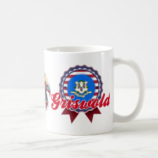 Griswold, CT Basic White Mug